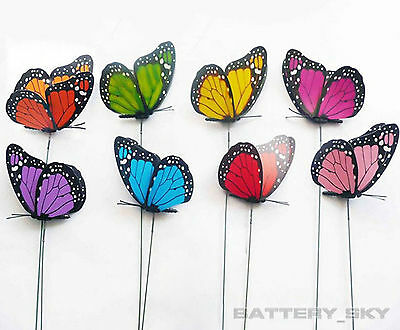 3D Colorful Artificial Butterflies Dummy Craft Wedding Party Floral Decoration