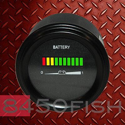 72 Volt  Battery Indicator Meter Gauge EV Cart