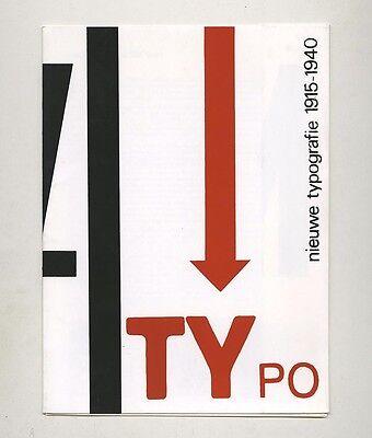 1978 Stedelijk Museum NIEUWE TYPOGRAFIE 1915–40 Piet ZWART Vilmos HUSZÁR Werkman