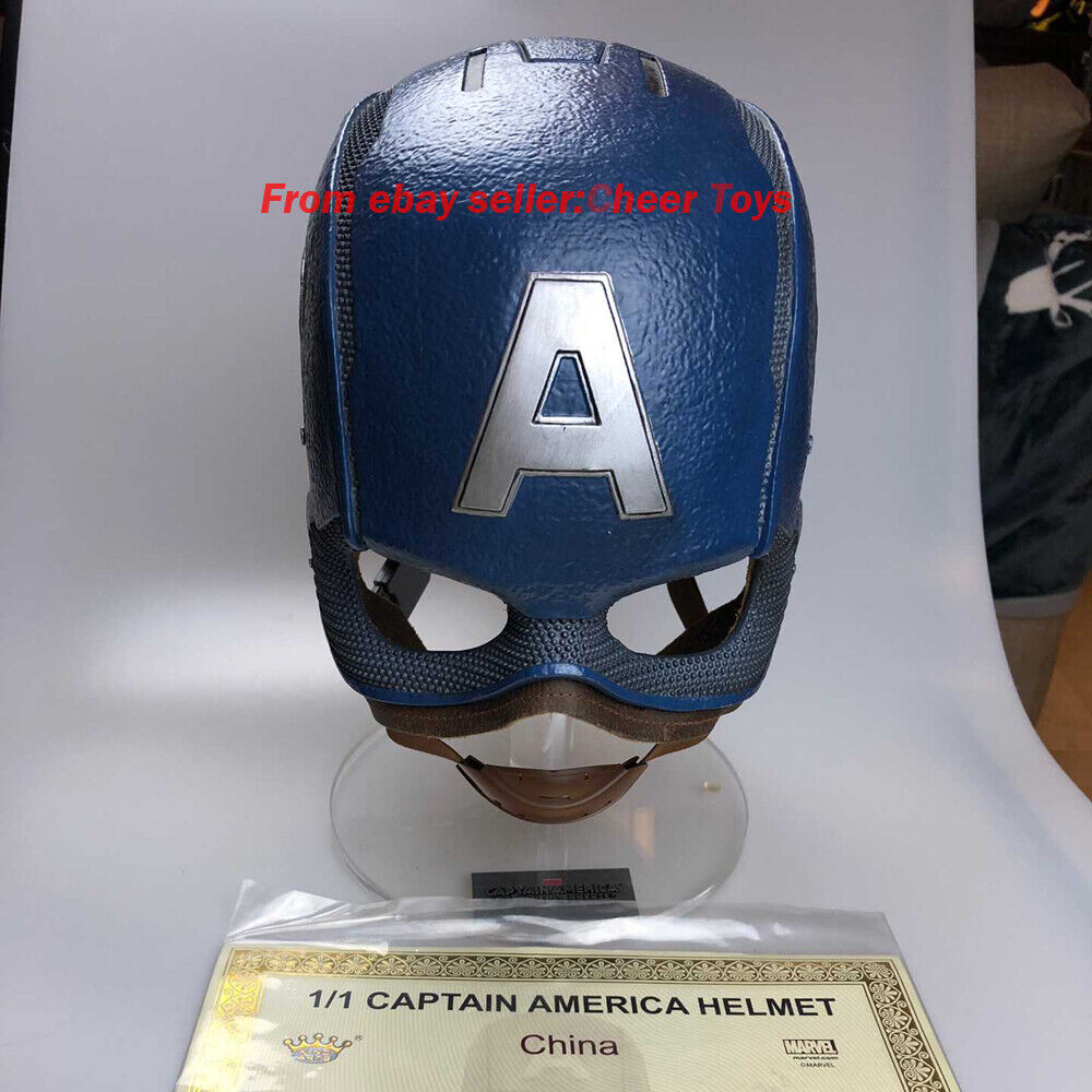 1 1 Rey Artes Marvel MPS028 Capitán América usable cos Coleccionables helmat