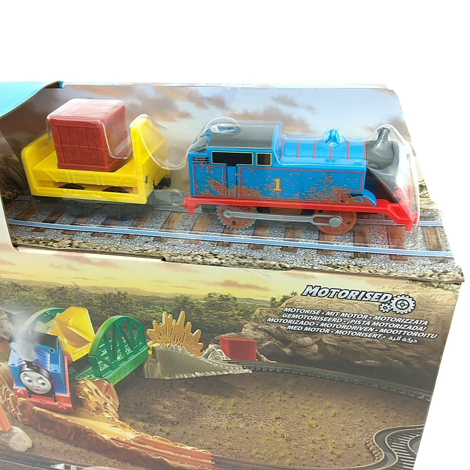 NEW Thomas & Friends Daring Derail Derail Derail Railway Tank Engine Train Set Trackmaster 696b38