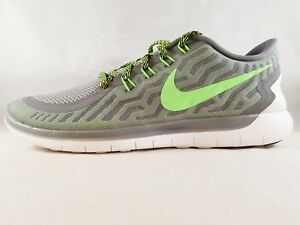 low priced 51c1a d0fad Details about Nike Men's Free 5.0 Men's Running Shoes 724382-013 Size 14