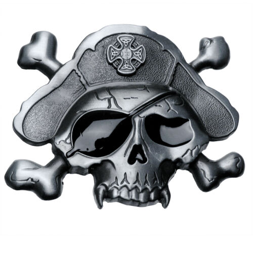 Buckle Pirate-Skull Pirate Pirates Tête de Mort Skull boucle de ceinture