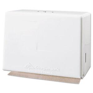 Georgia-Pacific-Singlefold-Towel-Dispenser-Steel-11-5-8w-x-6-5-8d-x-8-1-8h-White