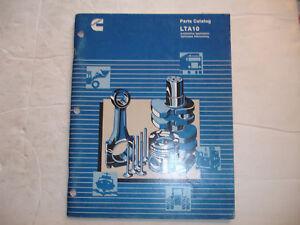 cummins shop lta10 service oem parts catalog manual optimized rh ebay com LTA10 Cummins Repair Manuals LTA10 Cummins Parts Catalog