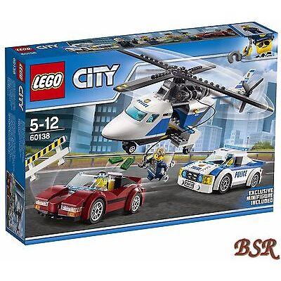 LEGO® City: 60138 Rasante Verfolgungsjagd & 0.-€ Versand & OVP & NEU !
