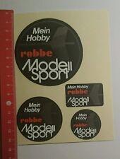Aufkleber/Sticker: Mein Hobby robbe Modell Sport (28091676)