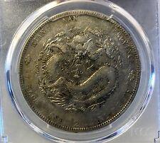 1901 China Kiangnan Silver Dollar Coin PCGS XF