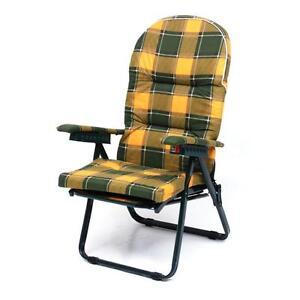 Sedie A Sdraio Imbottite.Sedia Sdraio Sedia In Ferro Poltrona Anziani Sedia Relax Sedia Imbottita