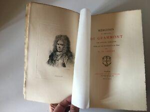 Hamilton Mémoires Caballero de Geraardsbergen Nueva Biblioteca Clásico Jouaust