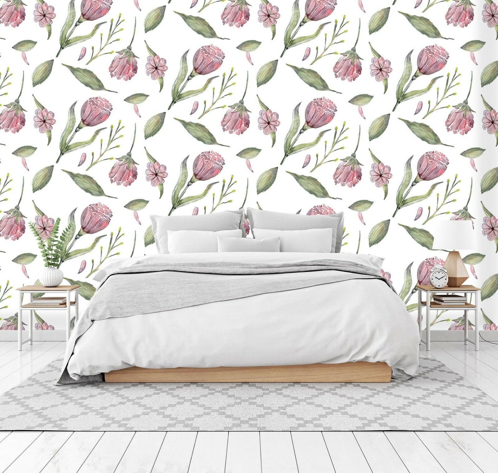 3D Beautiful Flowers 53 Wall Paper Wall Print Decal Wall Deco Indoor Wall Murals