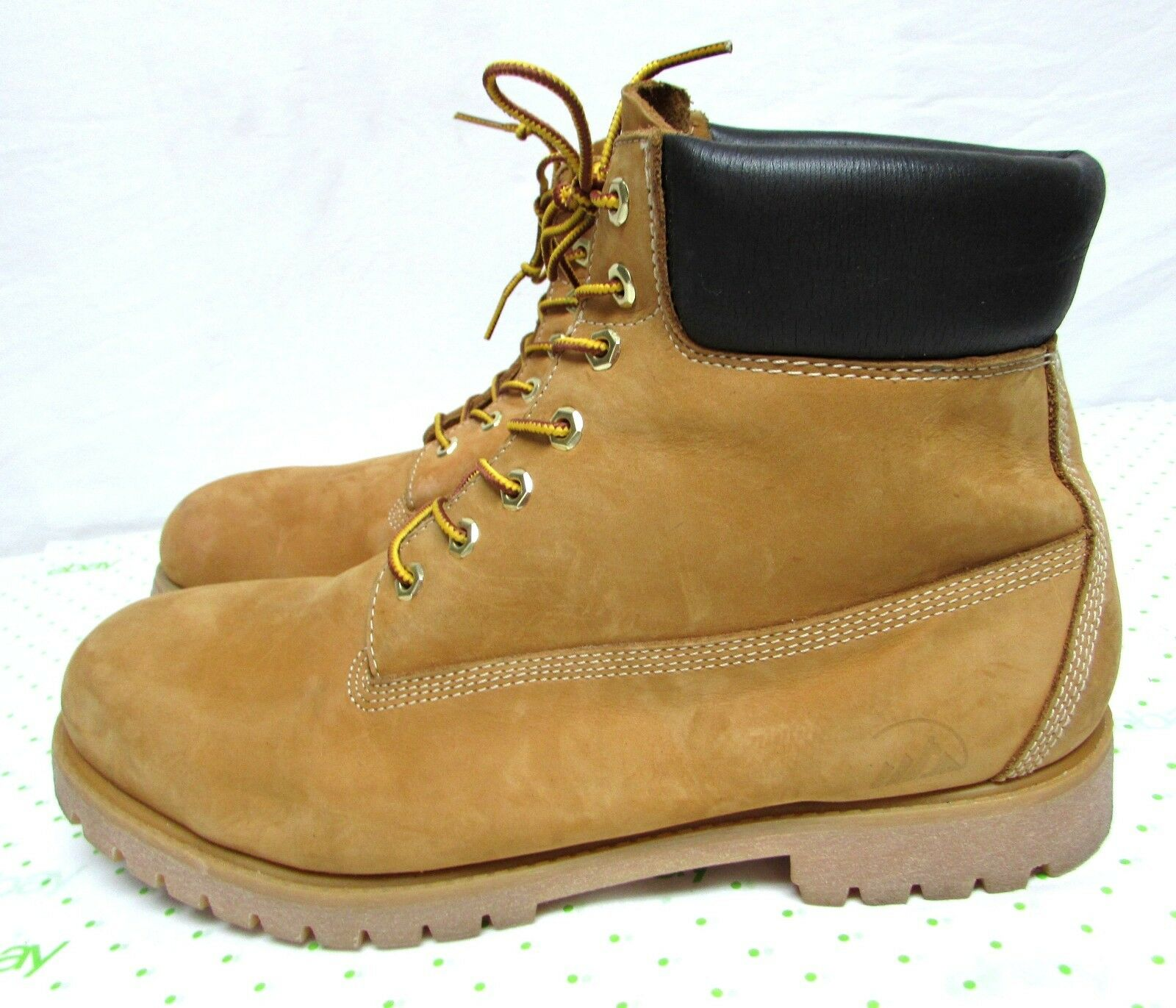 colorado men's boots ankle leather waterproof size 15 M hiking work