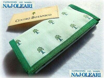 ???? Naj Oleari Centro Botanico Vero Vintage Portachiavi Key Wallet Palme 1980-90