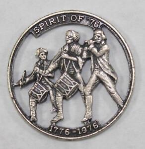 Rare-Spirit-of-039-76-US-Bicentennial-Cut-Token-Coin