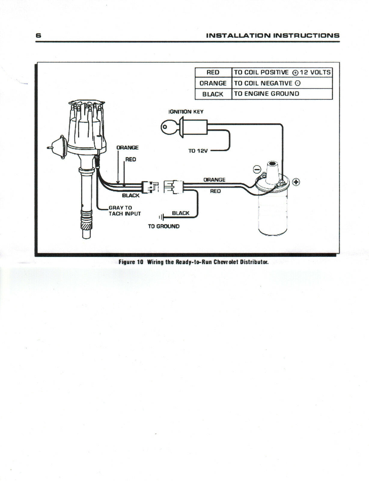 Ford 292 Distributor Wiring Library Electronic Ignition Diagram 1983 Top Street Performance Jm7742bl Pro Series Ready To Run Ebay