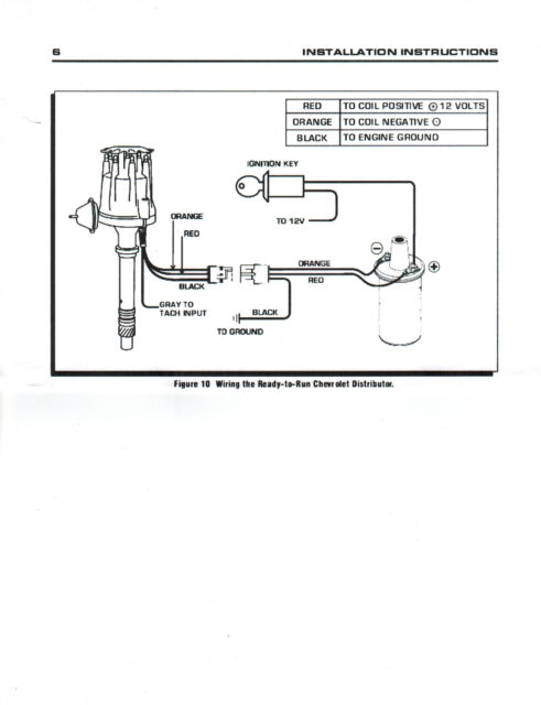 Accel Hei Distributor Wiring Diagram from i.ebayimg.com