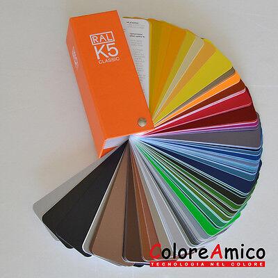 Leale Mazzetta Tinte Unificate Ral K5 Semi-matt Ventaglio 213 Colori Opachi Fornire Servizi Per Le Persone; Rendere La Vita Più Facile Per La Popolazione