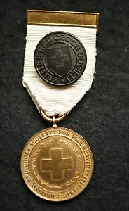 GENUINE-ISSUE-WWI-BRITISH-RED-CROSS-SOCIETY-MEDAL-FOR-WAR-SERVICE-1914-1918