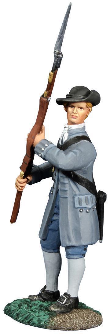 W Britain 18045 - Colonial Militia At Port Arms No.1