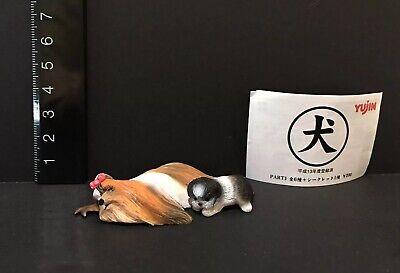 RARE Kaiyodo Yujin Colorata Wild Dog Hyena Figure Japan Only Retired!