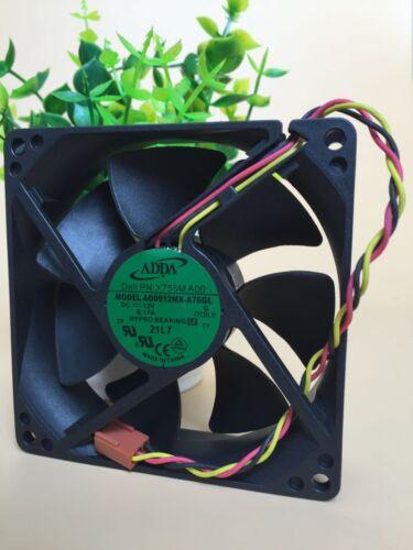 Brand ADDA AD0912MX-A76GL 9025 9CM DC 12V 0.17A HP P//N:447580-001 axial fan