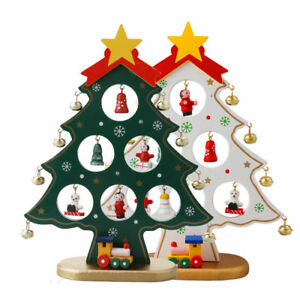 image is loading christmas tree miniature christmas ornaments diy office checkout
