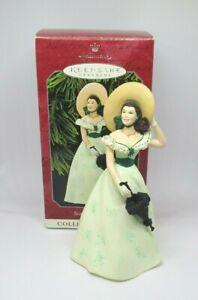Hallmark-Gone-With-the-Wind-SCARLETT-O-039-HARA-Picnic-Dress-2-1998-with-box-tag