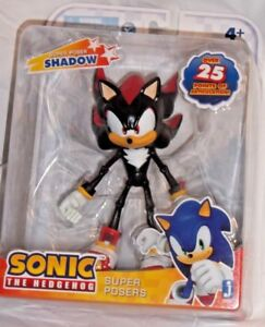 Sonic The Hedgehog Super Posers Shadow Action Figure