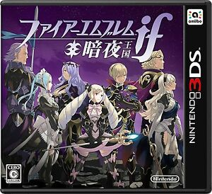 Used-Nintendo-3DS-Fire-Emblem-if-Dark-Night-Kingdom-Japan-ver-Import-Japan