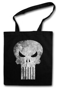 PUNISHER SKULL STOFFTASCHE Insignia Logo Symbol Hero Comic TV Frank Castle PC