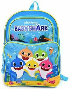 """BABY16 Baby Shark Large Backpack 16"""" x 12"""""""