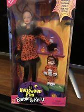 Halloween Fun Barbie & Kelly 1998 Doll