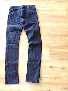 G-STAR-Jeans-Core-Slim-Midnight-Regular-schmal-schwarz-26-34-Stickerei
