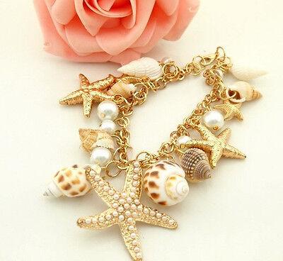 Fashion Women Lots Style Bracelet Gold Rhinestone Bangle Charm Cuff Jewelry New