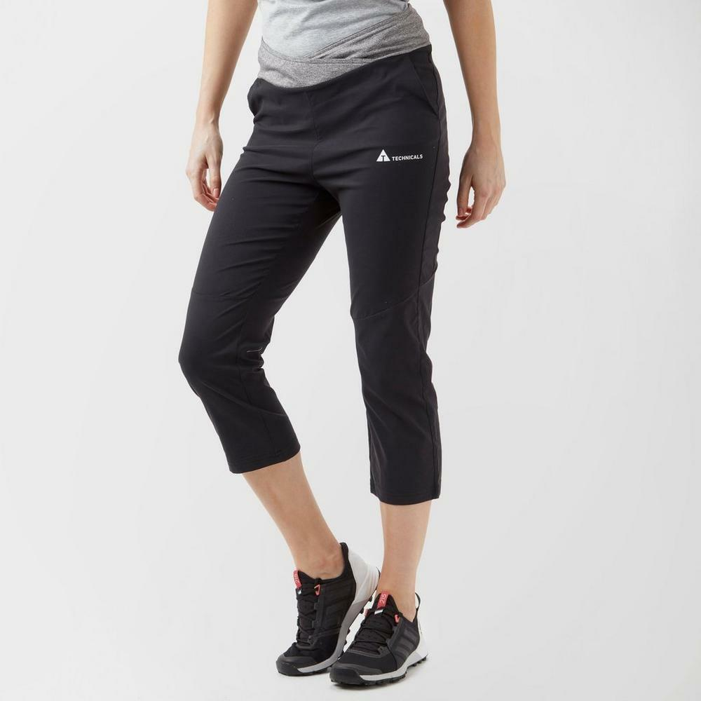 New Technicals Women's Training Fitness Vitality Cropped Pants
