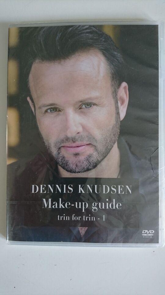 Dennis Knudsen - Make-Up Guide Trin For Trin - 1, DVD, andet