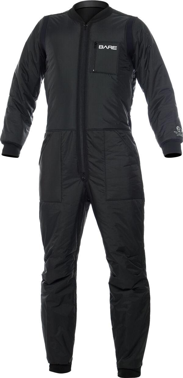 Bare T-100, ondergoed voor Diver Dry Suit --mannen --Last afmetings