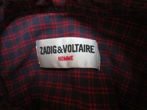 Taille amp; 65 Chemise Rouge Voltaire Zadig M À wz5xSIq