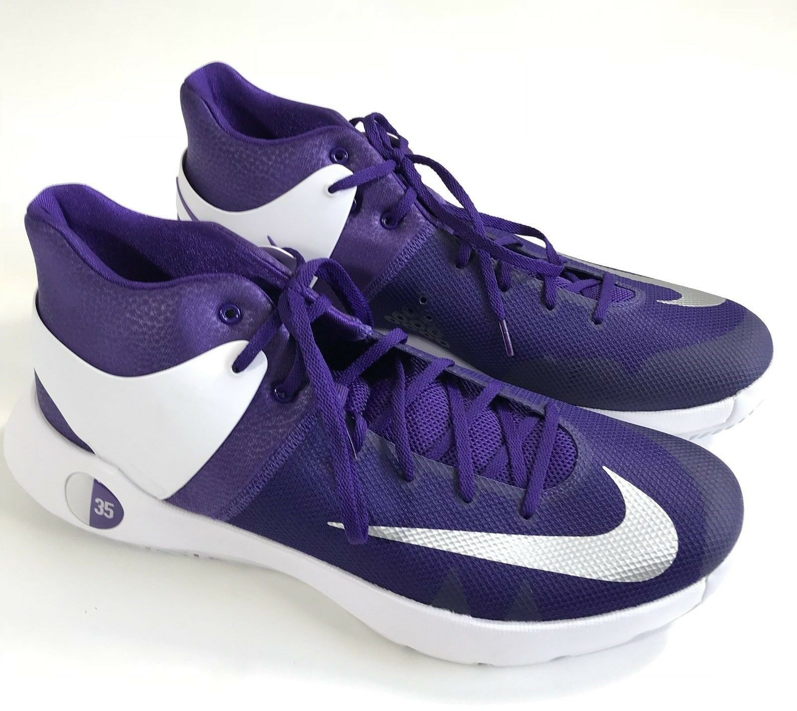 Nike KD Trey 5 IV Basketball Shoes~Mens 17~Purple ~NEW~856484-551~Kevin Durant
