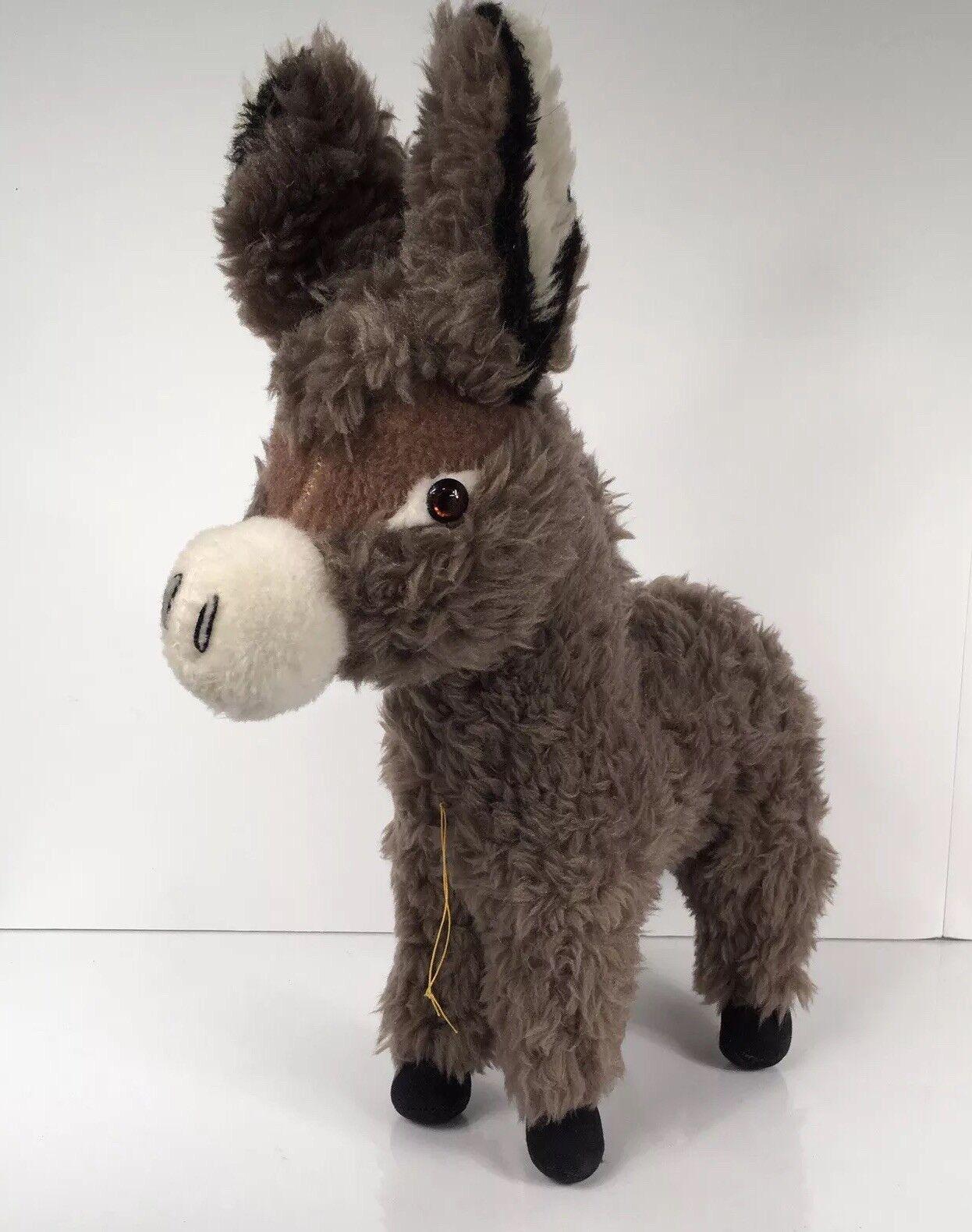 Merrythought Ironbridge Shrops Vintage Donkey Made In England Vintage