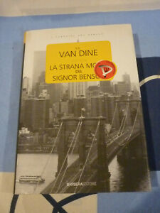LA STRANA MORTE DEL SIGNOR BENSON S.S. VAN DINE