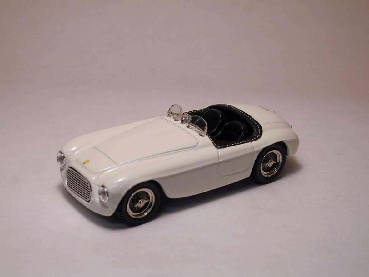 Ferrari 166 MM Spyder 1969 Street blanc 1 43 Model 0006 ART-MODEL