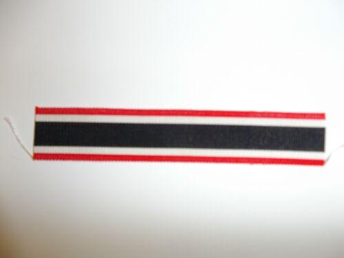 50103  WW 2 German War Service Merit  Cross 2nd Class Buttonhole Ribbon R18D
