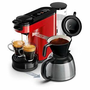 Philips HD6592/81 Machine à café SENSEO Switch 2 en 1 Rouge (machine à