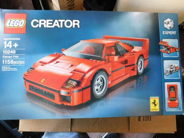LEGO Creator Expert Ferrari F40 10248 Brand New  1158 Bricks