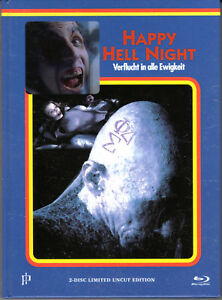 Happy-Hell-Night-2-discs-limited-Mediabook-uncut-new-Cover-E