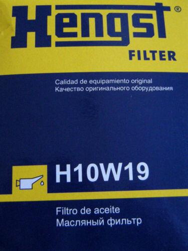 125 Kw ab Bj 2002 HENGST Ölfilter für Kia Sorento Typ JC 2,5 L CRDI 103 Kw