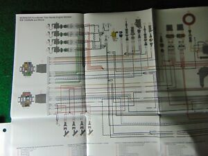 mercury outboard 40 50 60 wiring harness diagram tiller handle engine | ebay  ebay