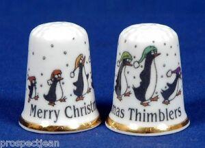 Frohe Weihnachten Thimblers 'exklusive' China Fingerhut B Fingerhüte 61 Haushalt