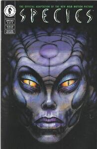 Species-Movie-Comic-Book-4-Dark-Horse-Comics-1995-NM
